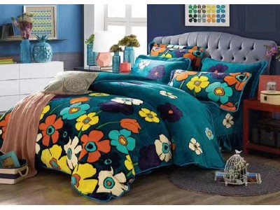 Lenjerie pentru pat de 2 persoane pufoasa Cocolino YY45