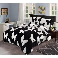 Lenjerie pentru pat de 2 persoane pufoasa Cocolino cod CO63