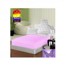 Husa pentru saltea de 140 x 200 cm roz