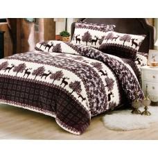 Lenjerie pentru pat de 2 persoane pufoasa Cocolino - YY102