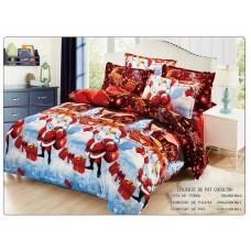 Lenjerie pentru pat de 2 persoane pufoasa Cocolino - JOJO13