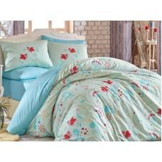 Lenjerie pentru pat matrimonial HOBBY Bumbac Ranforce - cod HB100