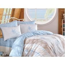 Lenjerie pentru pat matrimonial HOBBY Bumbac Ranforce - cod HB38