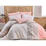 Lenjerie pentru pat matrimonial HOBBY Bumbac Ranforce - cod HB39