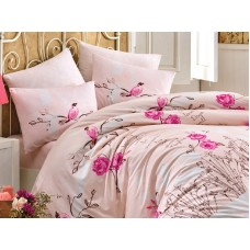 Lenjerie pentru pat matrimonial HOBBY Bumbac Ranforce - cod HB97
