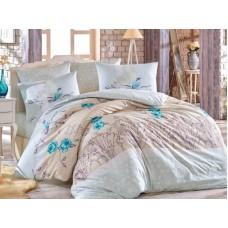 Lenjerie pentru pat matrimonial HOBBY Bumbac Ranforce - cod HB98
