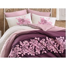 Lenjerie pentru pat matrimonial HOBBY Bumbac Ranforce - cod HB99