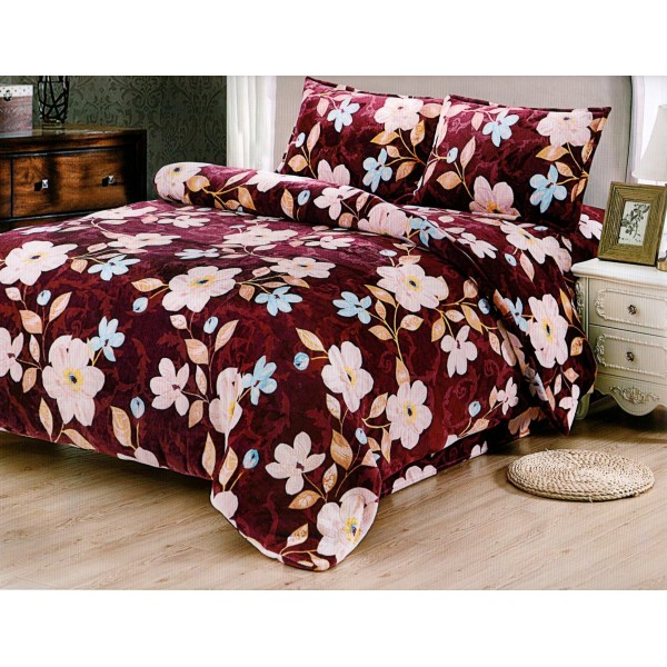Lenjerie pentru pat de 2 persoane pufoasa Cocolino - YY108