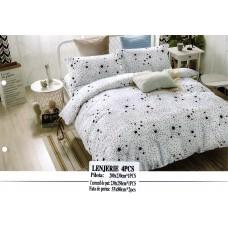 Lenjerie pentru pat Dublu - Bumbat FINET - CPF93