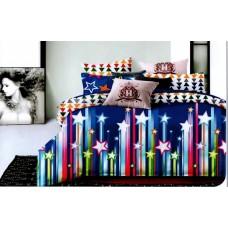 Lenjerie de pat dublu - Bumbac FINET - 2 persoane - KPF609