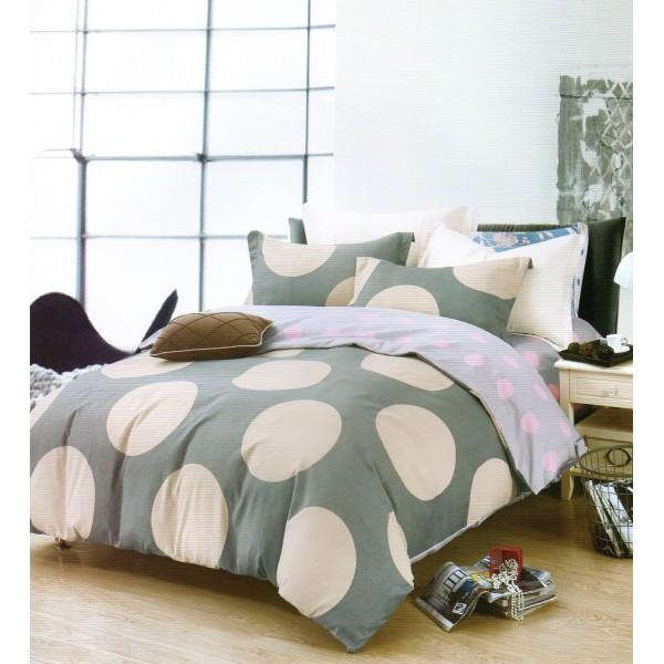 Lenjerie de pat dublu - Bumbac FINET - 2 persoane - KPF616