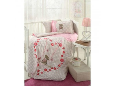 SET PATUT HEART BEAR